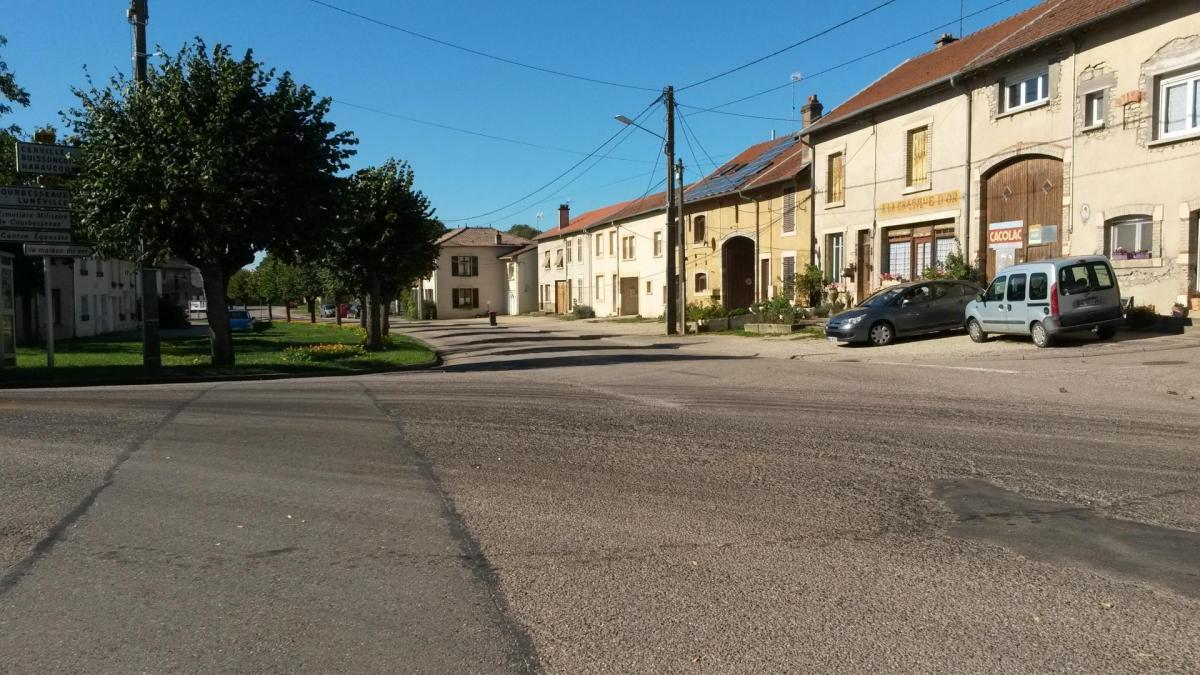 La rue Charles Berlet